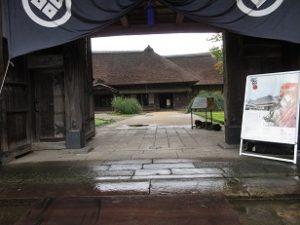 長岡市重要文化財「長谷川邸」修復工事完成写真